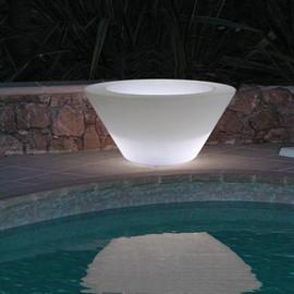 X-Pot Light 50 - Slide - doniczka podświetlana