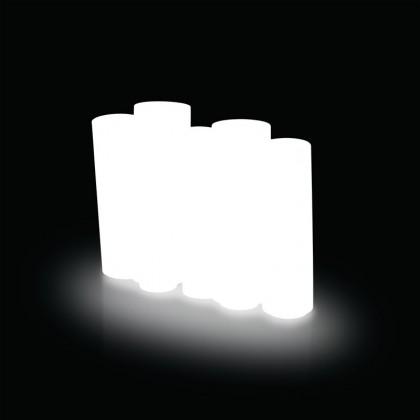 Bamboo Light - Slide - doniczka podświetlana