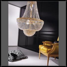 Amsterdam Impero 80 - Voltolina - kryształowa lampa wisząca