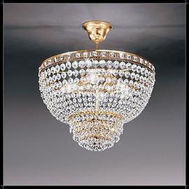 Amsterdam Sospensione 60 - Voltolina - kryształowa lampa wisząca