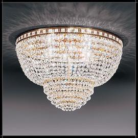Amsterdam Plafoniera 30 - Voltolina - plafon klasyczny kryształowy