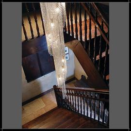Twister 40H100 - Voltolina - plafon klasyczny kryształowy