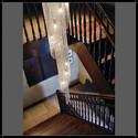 Twister 60H200 - Voltolina - plafon klasyczny kryształowy