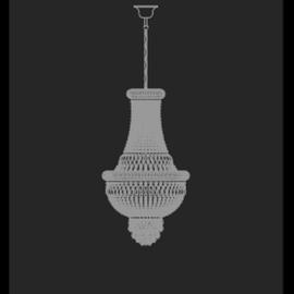 Osaka Impero 30 - Voltolina - lampa wisząca kryształowa