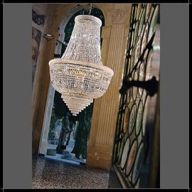 Osaka Impero 80 - Voltolina - lampa wisząca kryształowa