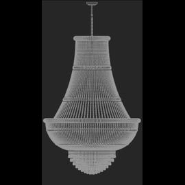 Osaka Impero 120 - Voltolina - lampa wisząca kryształowa