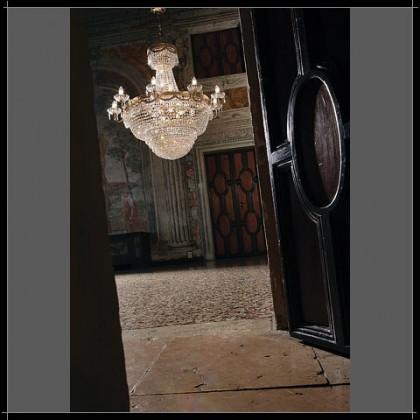 Pegaso Impero 80 - Voltolina - lampa wisząca kryształowa