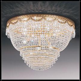 Pegaso Plafoniera 55 - Voltolina - plafon klasyczny kryształowy