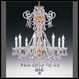 Dream 10L - Voltolina - kryształowa lampa wisząca