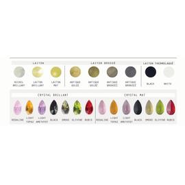 N21 009/03/1-A, GOLD, lip. - Glass LPS - kinkiet klasyczny