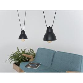 Lampa wisząca COBEN HANGMAN 2 - czarny - Customform