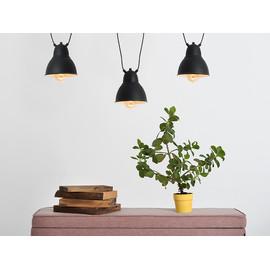 Lampa wisząca COBEN HANGMAN 3 - czarny - Customform