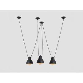 Lampa wisząca COBEN HANGMAN FIX 3 - czarny - Customform