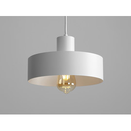 Lampa wisząca FAY 1 M - biały - Customform