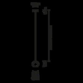 Beluga Steel D57 A05 15 - Fabbian - kinkiet