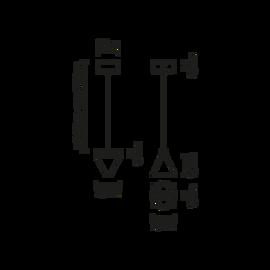 Tripla F41 A01 11 - Fabbian - kinkiet