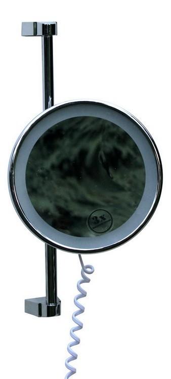 Vela X3 to ekskluzywne podświetlane lustro łazienkowe LED producenta Interiores.