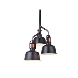 DARLING 3 BLACK - Azzardo - lampa wisząca