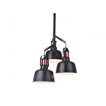 DARLING 3 BLACK - Azzardo - lampa wisząca - MD50686-3 - tanio - promocja - sklep