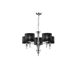 Impress 5 Black - Azzardo - lampa wisząca
