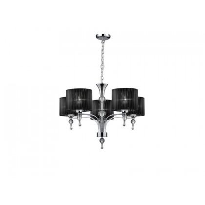Impress 5 Black - Azzardo - lampa wisząca - 1976-5P BK - tanio - promocja - sklep