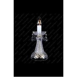 S31 006/01/1-A - Glass LPS - kryształowa lampa biurkowa