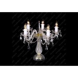 S31 009/05/1-A; lip. - Glass LPS - kryształowa lampa biurkowa