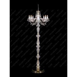 S41 009/08/1-A; lip. - Glass LPS - lampa stojąca kryształowa