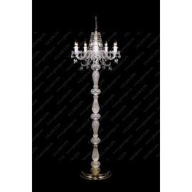 S41 009/05/1-A; lip. - Glass LPS - lampa stojąca kryształowa
