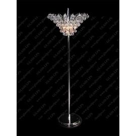 S47 555/06/4; Ni - Glass LPS - lampa stojąca kryształowa