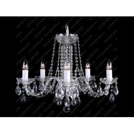 L11 007/05/1-A; Ni - Glass LPS - kryształowy żyrandol/lampa wisząca