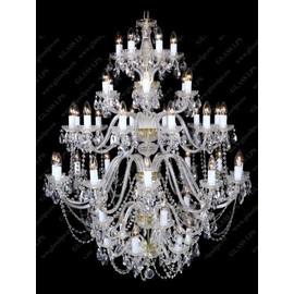 L11 006/78/1-A - Glass LPS - kryształowy żyrandol/lampa wisząca