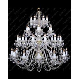 L11 006/36/1-A - Glass LPS - kryształowy żyrandol/lampa wisząca
