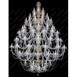 L11 007/108/4 - Glass LPS - kryształowy żyrandol/lampa wisząca