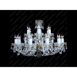 L11 006/18/1-A - Glass LPS - kryształowy żyrandol/lampa wisząca