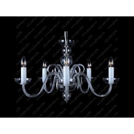 L11 905/05/3-H; Ni - Glass LPS - kryształowy żyrandol/lampa wisząca