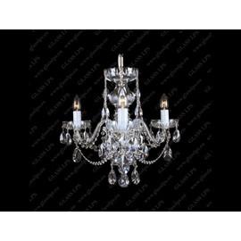 L11 801/03/1-A; Ni - Glass LPS - kryształowy żyrandol/lampa wisząca