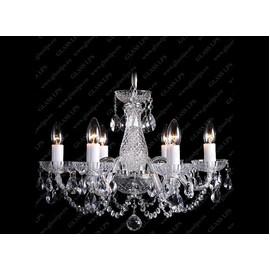 L11 006/06/1-A; Ni - Glass LPS - kryształowy żyrandol/lampa wisząca
