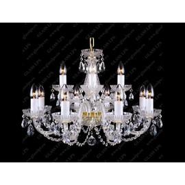 L11 006/12/1-A; F 2 floor - Glass LPS - kryształowy żyrandol/lampa wisząca