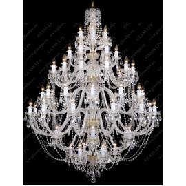 L11 009/60/1-A; lip. - Glass LPS - kryształowy żyrandol/lampa wisząca