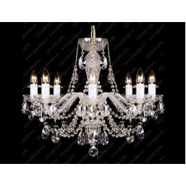 L11 009/08/1-A; lip. - Glass LPS - kryształowy żyrandol/lampa wisząca