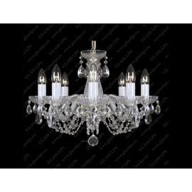 L11 006/08/1-A - Glass LPS - kryształowy żyrandol/lampa wisząca