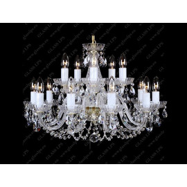 L11 006/15/1-A - Glass LPS - kryształowy żyrandol/lampa wisząca