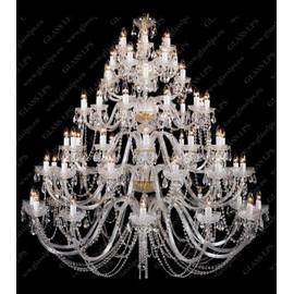 L11 006/66/1-A - Glass LPS - kryształowy żyrandol/lampa wisząca