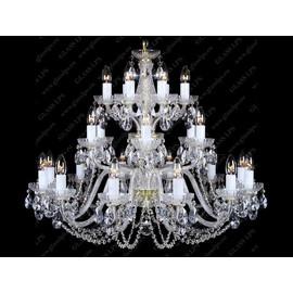 L11 006/24/1-A - Glass LPS - kryształowy żyrandol/lampa wisząca