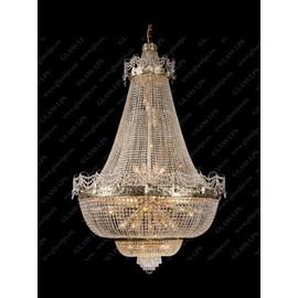 L15 572/23/1-A, 3; F 2 floor - Glass LPS - kryształowy żyrandol/lampa wisząca