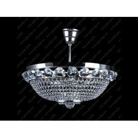 L15 166/04/6; F tube, Ni - Glass LPS - kryształowy żyrandol/lampa wisząca