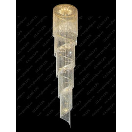 L15 512/48/3 - Glass LPS - kryształowy żyrandol/lampa wisząca
