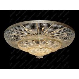 L15 501/48/3; F 4 floor - Glass LPS - kryształowy żyrandol/lampa wisząca