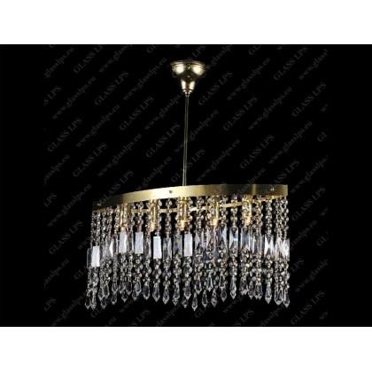 L17 010/05/3, 3-SK - Glass LPS - kryształowy żyrandol/lampa wisząca - L17 010/05/3, 3-SK - tanio - promocja - sklep